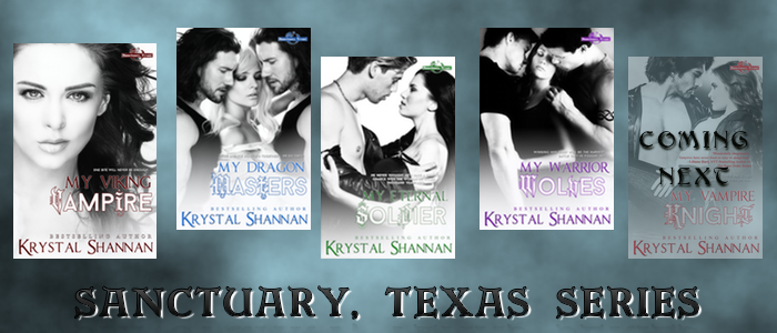 Sanctuary Texas series graphic